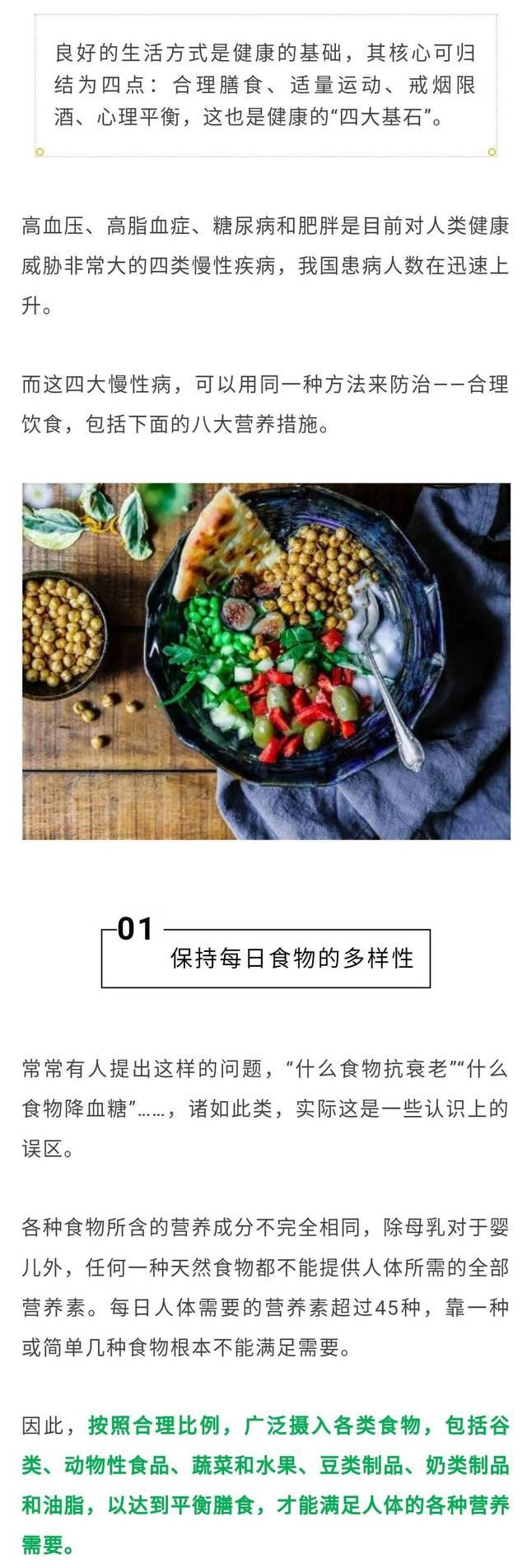 【102健康】饮食防治高血压等4大慢性病,注意这8大营养措施!
