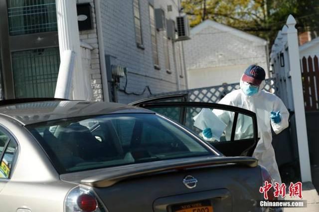 初步统计显示纽约州近14%被测试者带有新冠病毒
