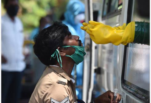 印度新增1429例新冠肺炎确诊病例,累计确诊245