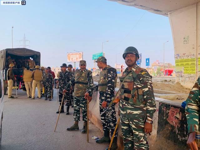 印度最大中央武装警察部队9人确诊新冠肺炎4