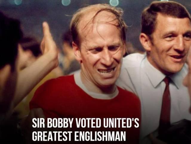 曼联评选队史最伟大英格兰球员 查尔顿爵士当选