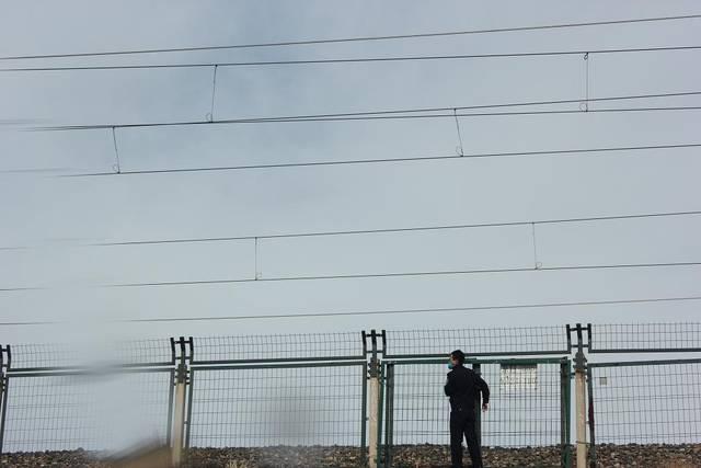 丰镇车站派出所组织民警开展线路隐患大排查工