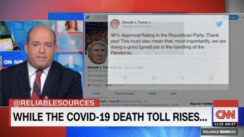 CNN主播披露:死亡病例不断攀升,白宫将疫情当