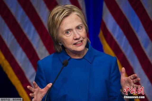 美国大选:希拉里表态支持拜登竞选总统