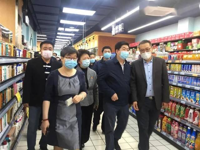 【防疫复工】区领导检查运营中心所属企业疫情