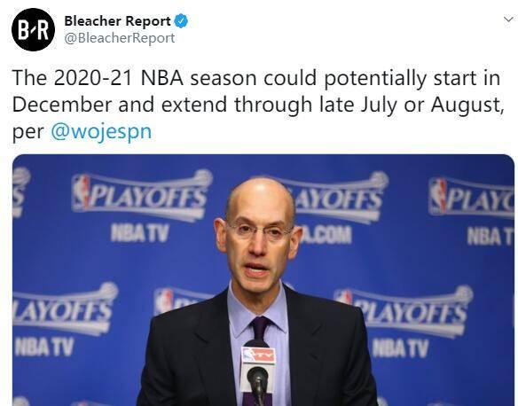 NBA开赛时间延迟!詹姆斯库里哈登等人恐无缘奥