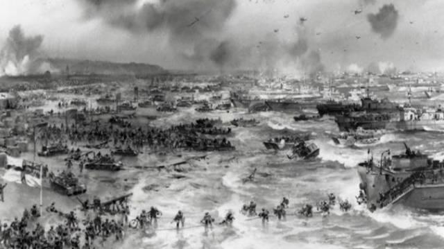 诺曼底登陆前,英美联合军演749人丧生,60年后终于得见天日