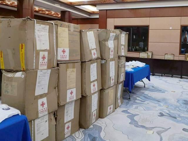 中国向斐济提供首批抗疫医疗物资援助