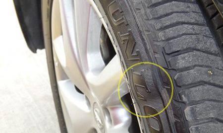 我的轮胎鼓包了,一定要换掉吗?