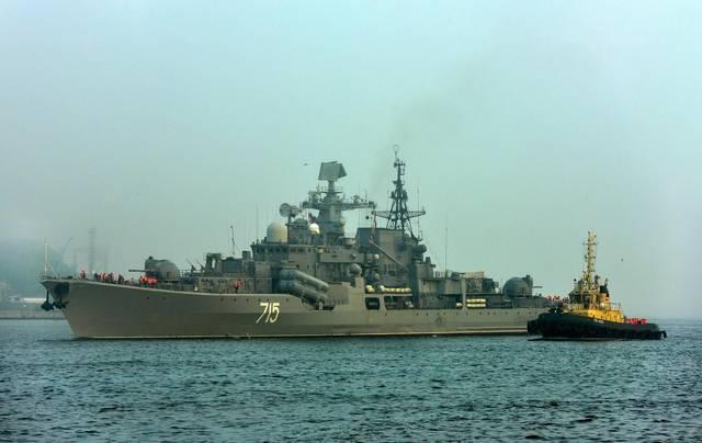 """不再死撑!俄军""""现代级""""驱逐舰要退役,军迷:请到大连舟山来!"""