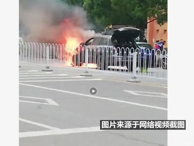 理想ONE当街起火 官方回应:电池系统无故障,起