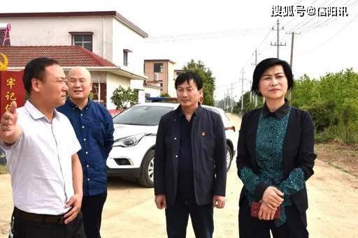 信阳市司法局局长徐晓同志深入光山县代楼村检