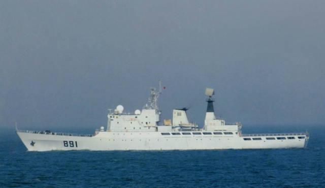 先驱者!为人民海军现代化做贡献,承担武器验证任务的主力舰艇!