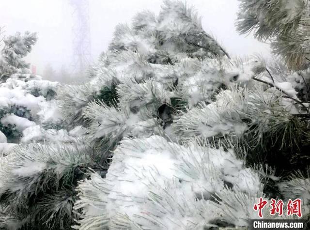 """""""中国最冷小镇""""初夏降大雪 系三年来首次"""