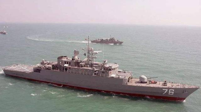 乌克兰客机悲剧重演,伊朗战舰被当场击沉,美军幕后下了黑手?