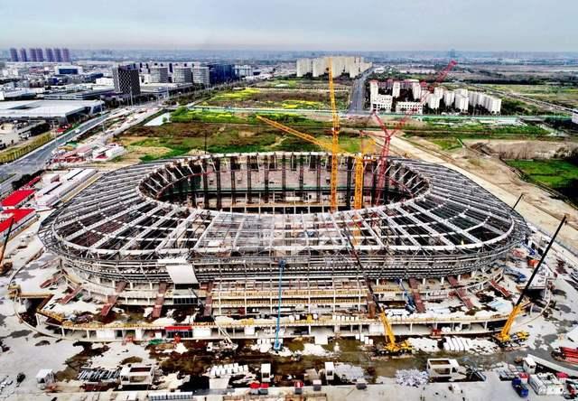 上港新主场9月底基本建成 俱乐部定于2021年入驻